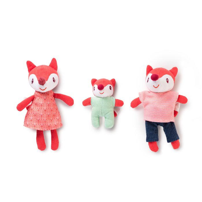 Obrázek Lilliputiens - Rodinka lišky Alice