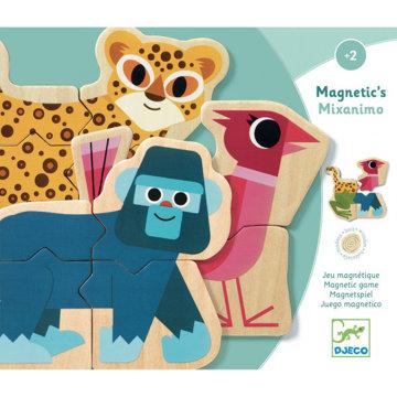 Obrázek DJECO Magnety pomíchaná zvířátka