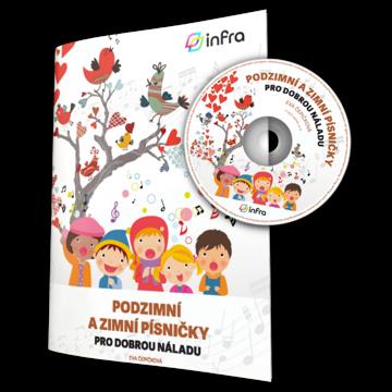 Obrázek Podzimní a zimní písničky pro dobrou náladu – zpěvník s CD
