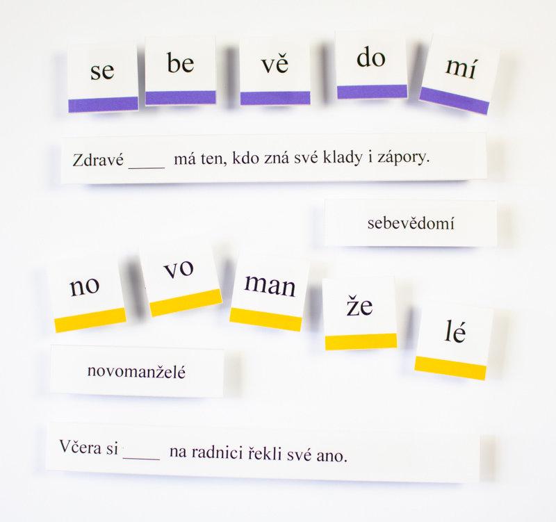 Obrázek Pětislabičná slova s porozuměním
