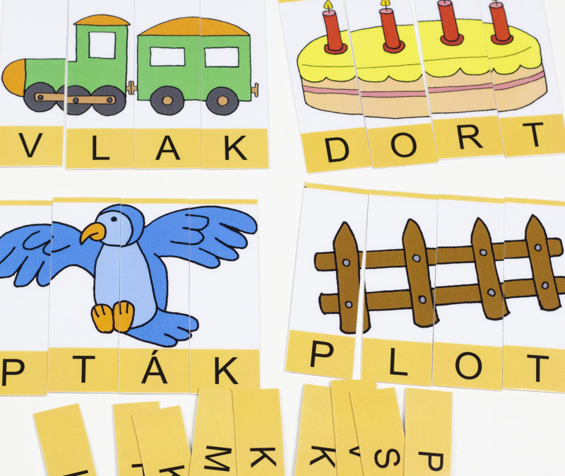 Obrázek Čtyři písmena