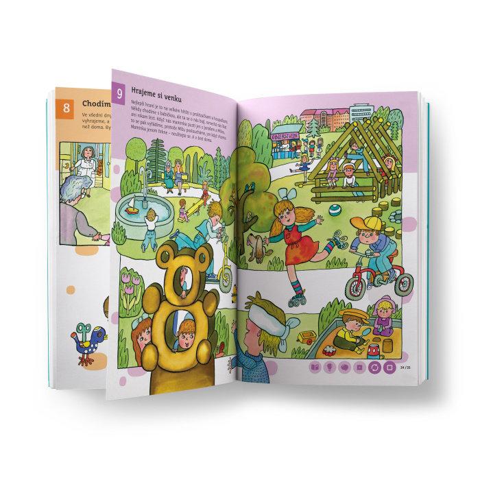 Obrázek Kouzelné čtení - Encyklopedie pro předškoláky