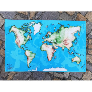 Obrázek Mapa světa A1